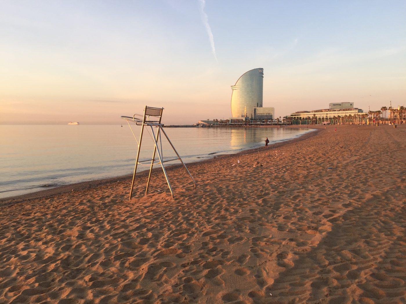 playa de la Barceloneta 16
