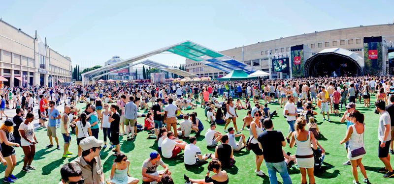 JUNE, THE MONTH OF MUSIC FESTIVALS IN BARCELONA.