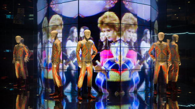 """David Bowie Is"" … Barcelona hosts the international exhibition dedicated to the king of glam-rock."