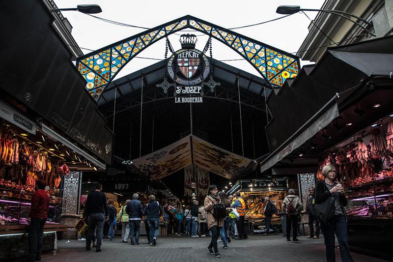 La Boquería: a market full of sensations.