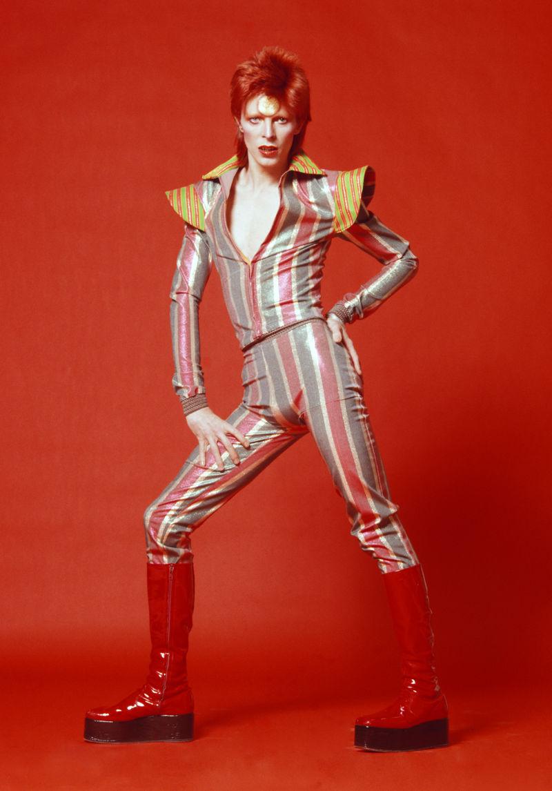 11. David Bowie, 1973 by Sukita