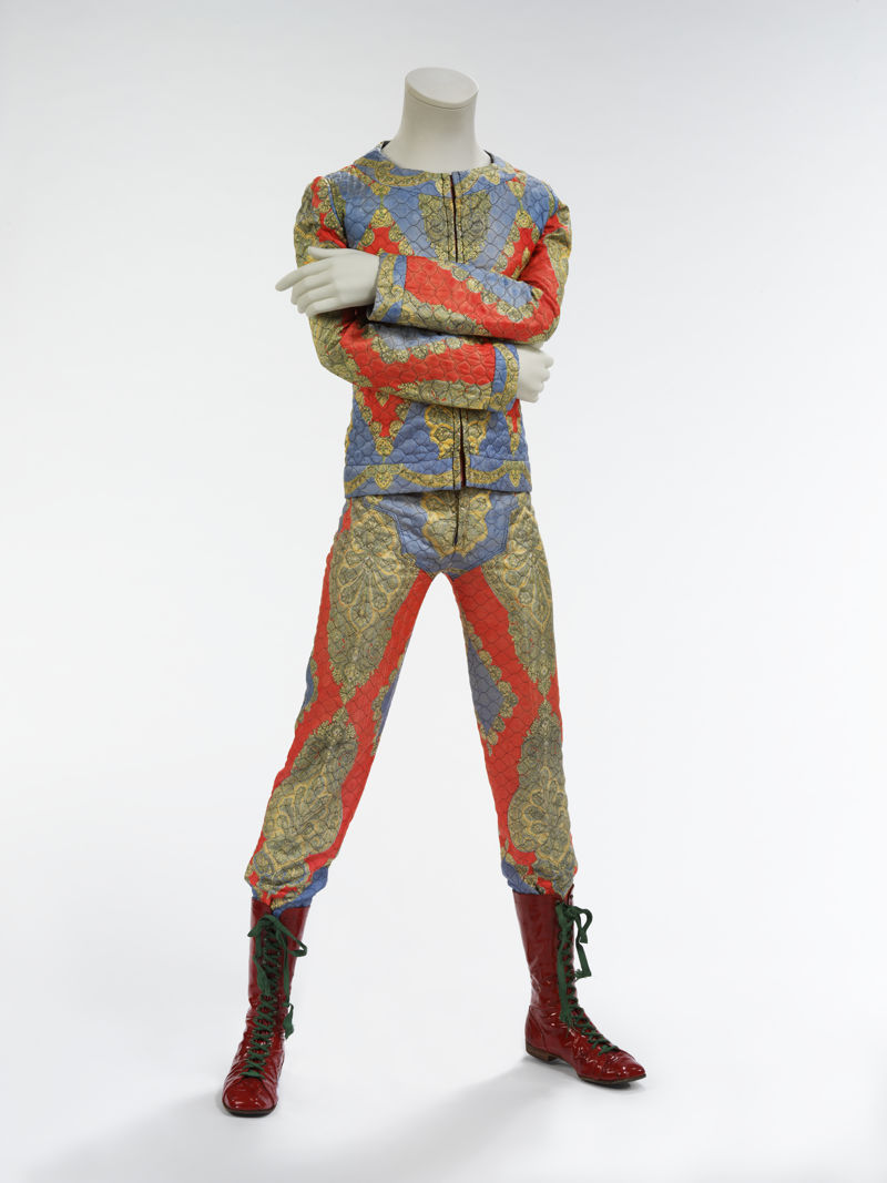 18. Quilted two-piece suit, 1972