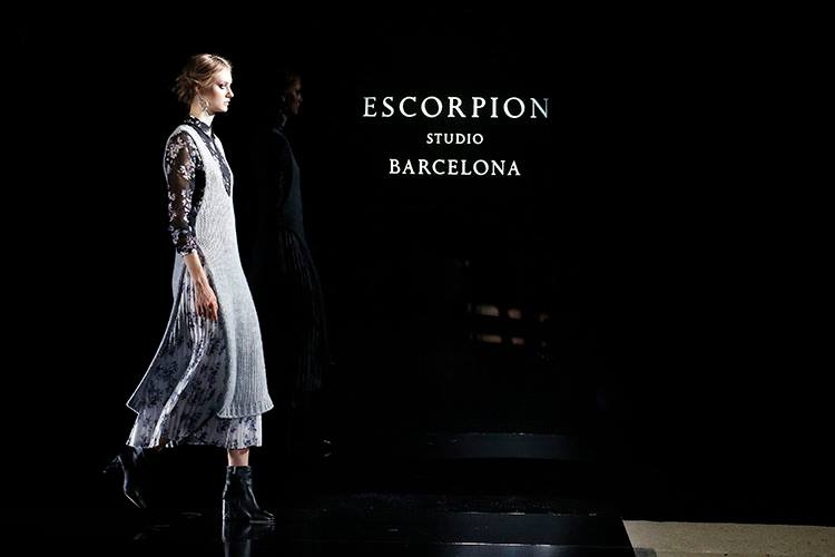 """WONDERLAND"", THE COLLECTION OF ESCORPION IN THE 080 BARCELONA FASHION."