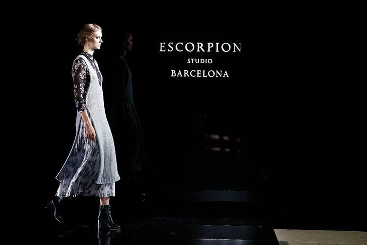 «Wonderland», la colección de Escorpion en la 080 Barcelona Fashion.