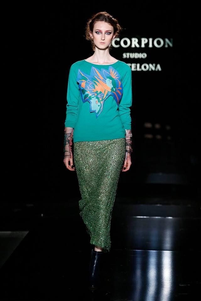 Desfile Escorpion 080 Barcelona Fashion