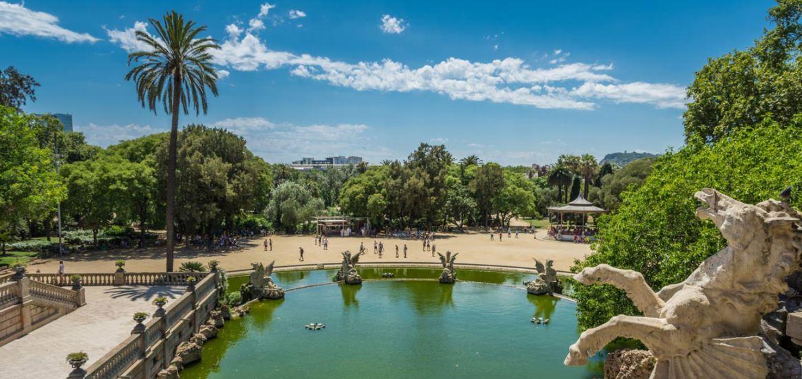 Parc de la ciutadella el primer parque de barcelona for Parques de barcelona