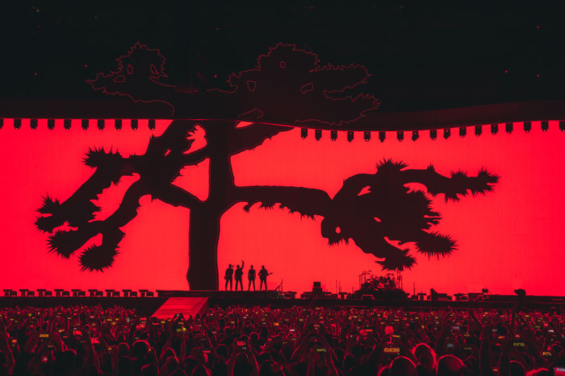 U2: THE JOSHUA TREE TOUR 2017 ARRIVES TO BARCELONA.