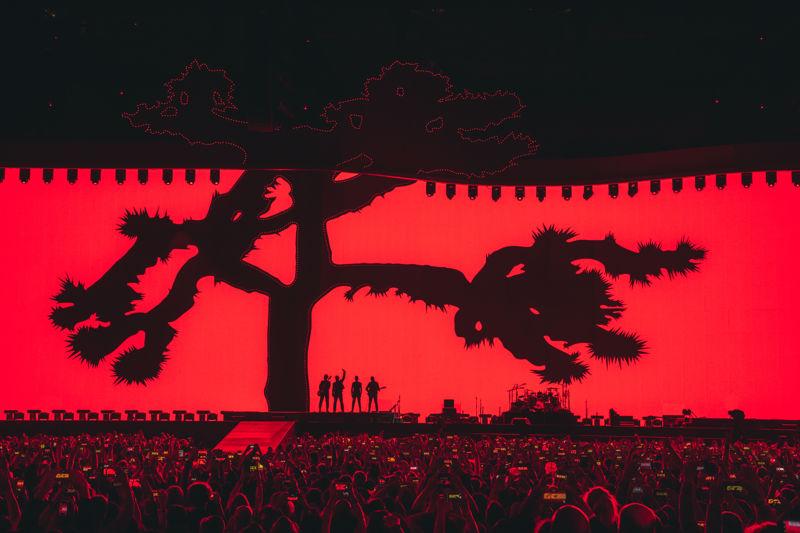 U2:THE JOSHUA TREE TOUR 2017 llega a Barcelona.