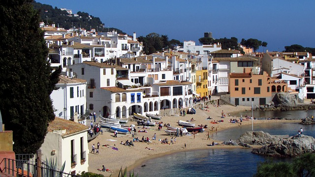 Ideal for shootings: Calella de Palafrugell.
