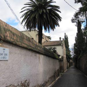 Camino de Sant Genís en Horta