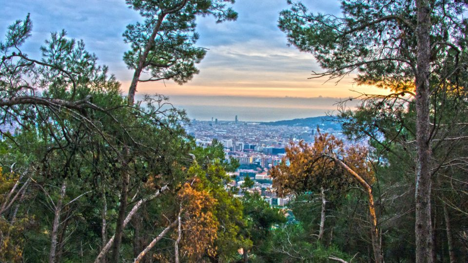 Panoramic views of Barcelona for your next audiovisual project