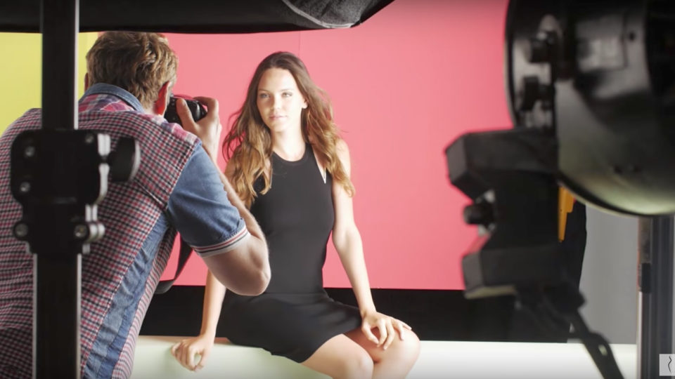 Filming and postproduction for ModelManagement.com