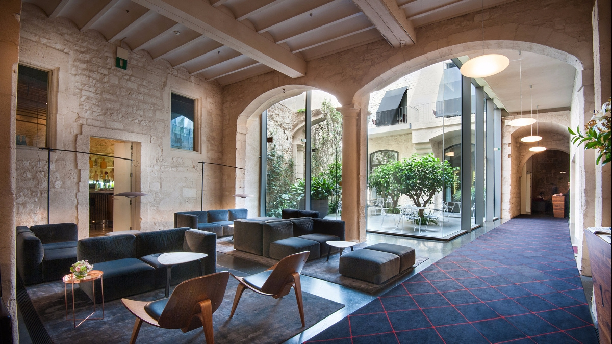 The ten best hotel lobbies in barcelona rvd media group for Hoteles alrededor de barcelona
