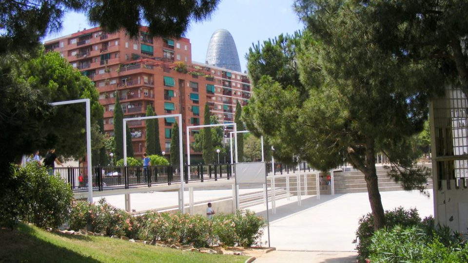 Free soccer fields in Barcelona for your audiovisual project
