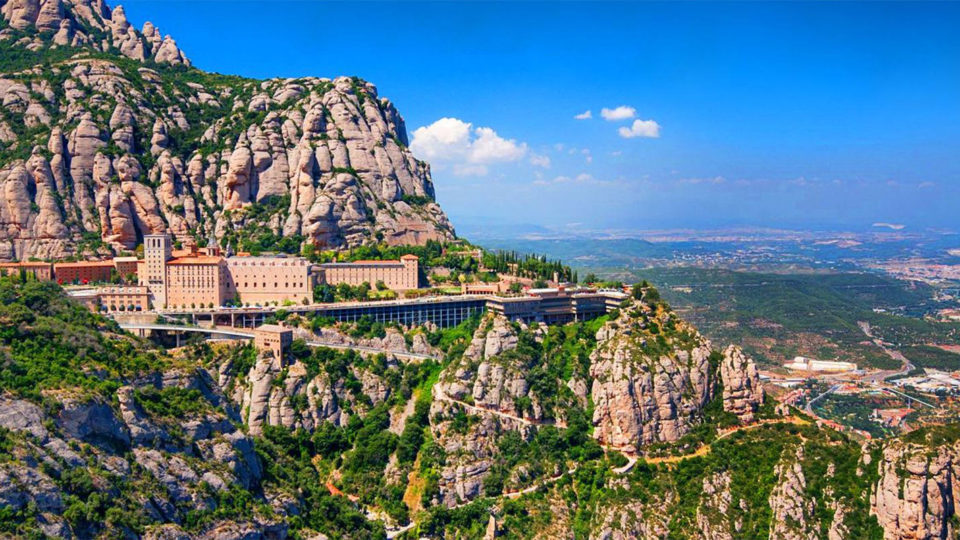 The magical mountain of Montserrat in Catalonia