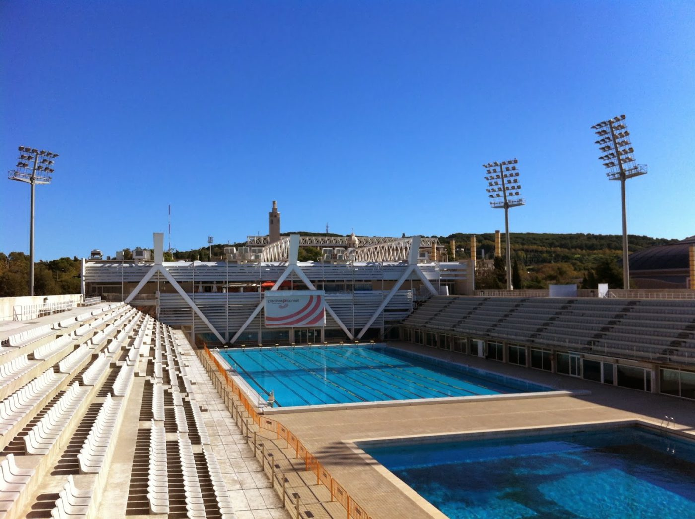 The olympic barcelona for your audiovisual productions for Piscines picornell
