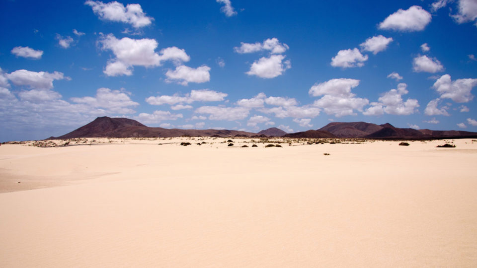Discover the deserts we have in Spain